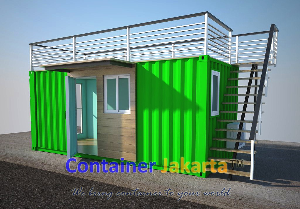 Portable Office Container Exclusive Design
